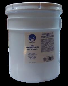 Gel Antibacterial 19 litros 80% alcohol alto espectro con humectante