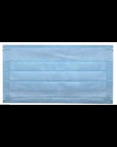 Cubrebocas tricapa - 3 capas plisado termosellado 25pzas
