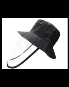 Sombrero con Protector Facial-Akron-Negro