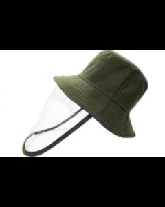 Sombrero con Protector Facial Akron Verde olivo