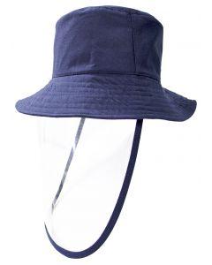 Sombrero con Protector Facial Akron Azul