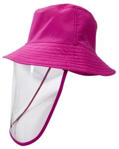 Sombrero con Protector Facial Akron Rosa